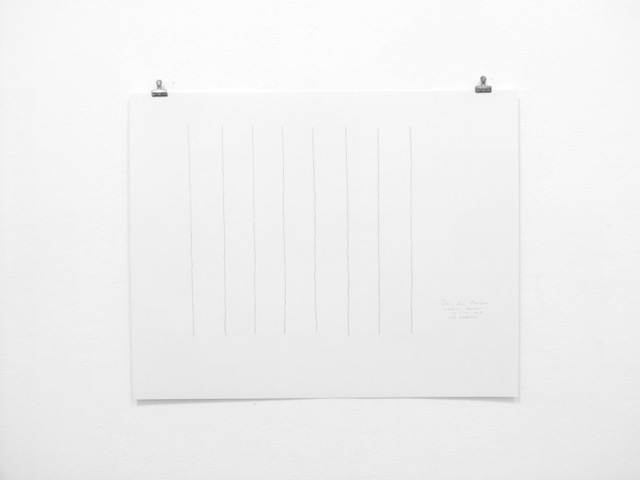 , '8-Hour Drawing (1),' 2017, DENK Gallery