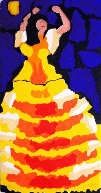 , 'LA DANSEUSE ESPAGNOLE ,' , Galerie Vivendi