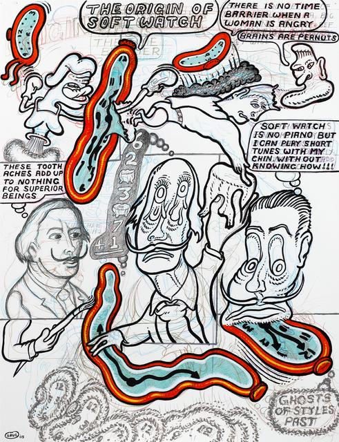 Peter Saul, 'The Origin of Soft Watch', 2003, Coleccion SOLO