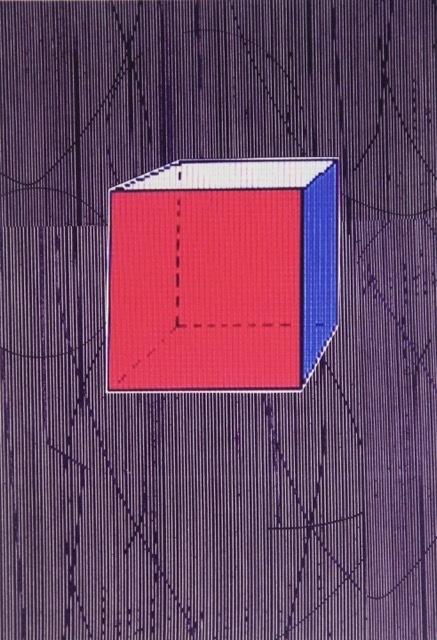 Five Geometric Solids #2 Digital print on paper 19 x 13 inches