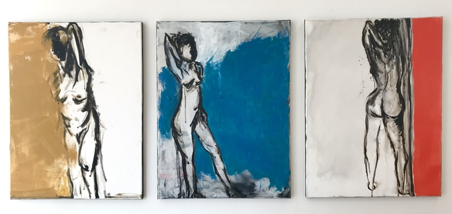 , 'Triptych msingi,' 2017, Canal Street Art Gallery