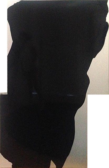 Cabrita, 'The Aluminum black Flowers #2', 2001, Painting, Acrylic on aluminum, Galeria Filomena Soares