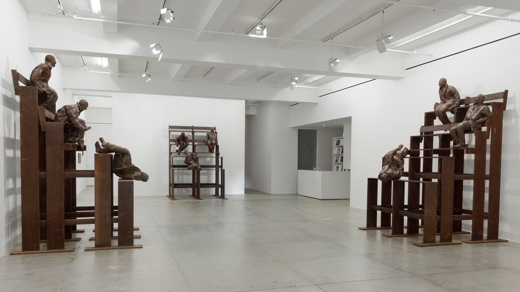 Juan Muñoz, Installation View, Marian Goodman Gallery, New York, December 9, 2014 - January 29, 2015
