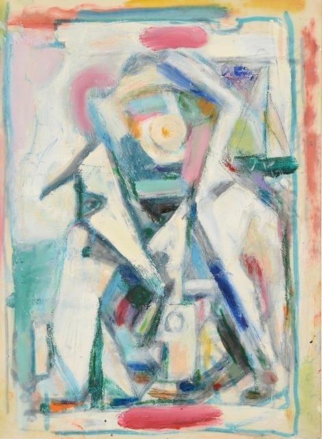 , 'Rythme-Lumière VI,' ca. 1950, Waterhouse & Dodd