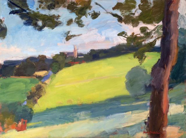 , 'View towards Pluherlin,' 2018, Valley House Gallery & Sculpture Garden