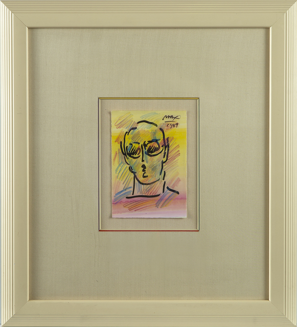 Peter Max, 'Peter Max Original Painting Neo-Man Signed Contemporary Art', 1989, Modern Artifact