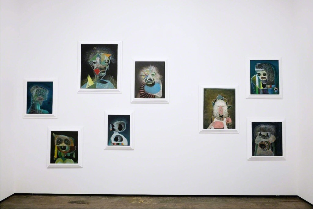 Holger Kalberg, installation view