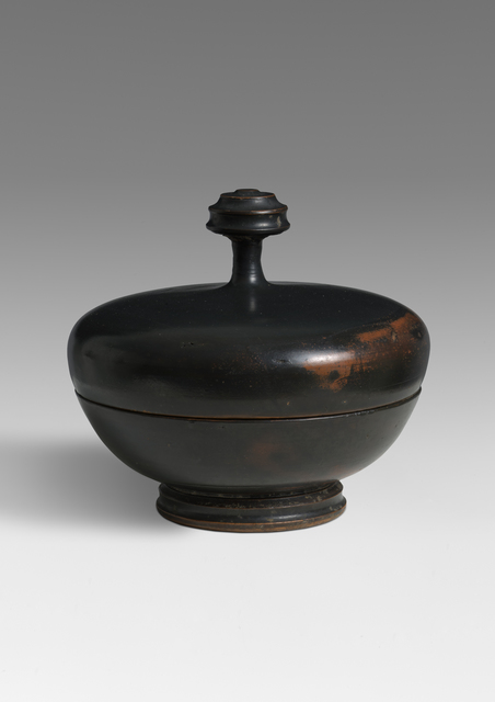 , 'An Attic Black-Glazed Pyxis,' Late 5th Century B.C., Benjamin Proust Fine Art Limited