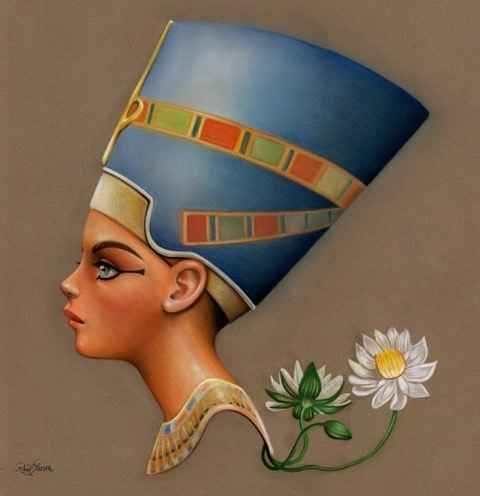 ", '""NEFERTITI: The beautiful one has come"",' 2018, Haven Gallery"