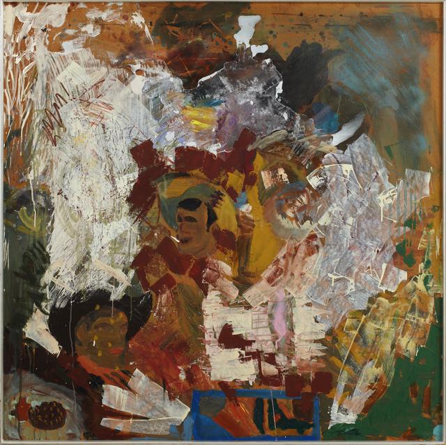Per Kirkeby, 'Three men seeking ruins', 1975-1977, Galleri Bo Bjerggaard