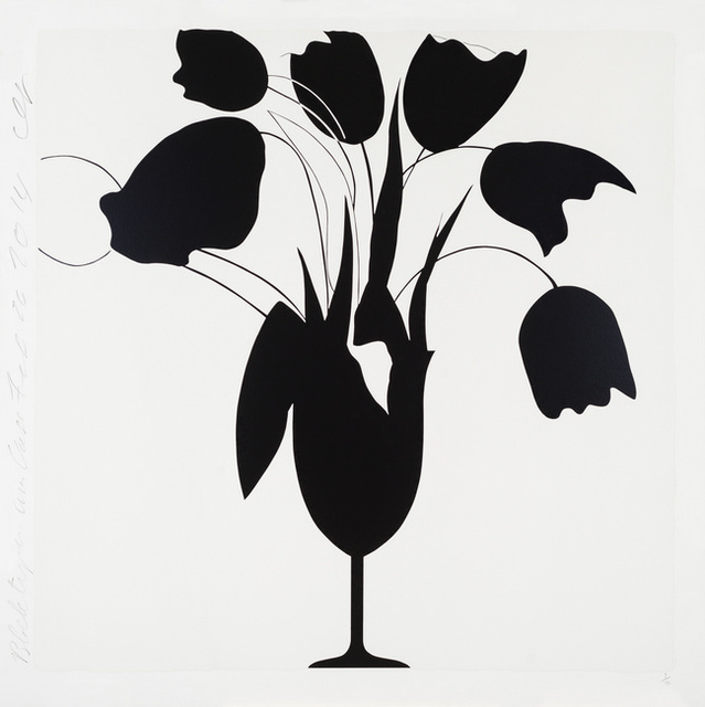 , 'Black Tulips and Vase, Feb 26, 2014,' , Heather Gaudio Fine Art