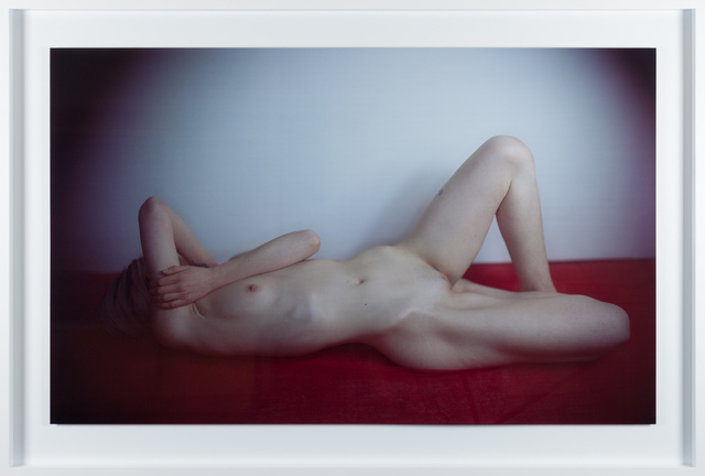 , 'Large red nude (female),' 2016, Fraenkel Gallery