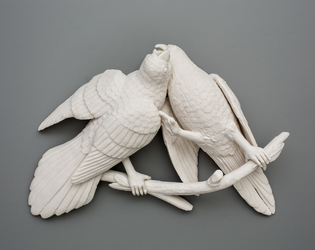 , 'Bird Duo 1,' 2016, Mindy Solomon Gallery