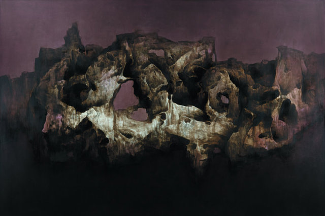 Xue Song 雪松, 'Garden Rock Series No. 41', 2011, Painting, Oil on canvas, Beijing Center for the Arts