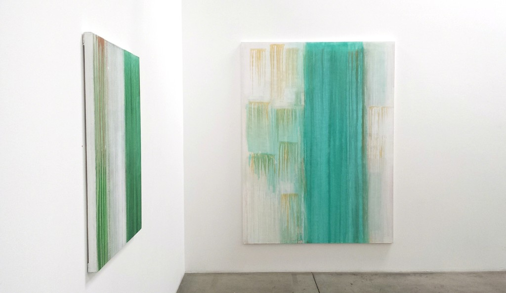 "Tony Beauvy, ""New Paintings"" Installation