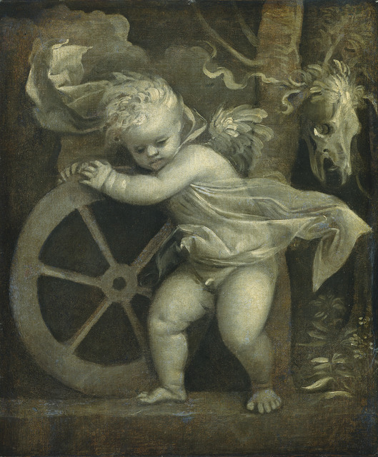 Titian, 'Cupid with the Wheel of Fortune', ca. 1520, National Gallery of Art, Washington, D.C.
