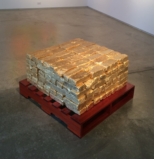 , 'It's a gold mine/is the gold mine,' 2016, McCormick Gallery