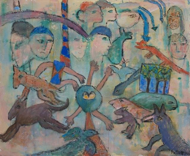 , 'Riddling Legends X,' 2009, Walter Wickiser Gallery