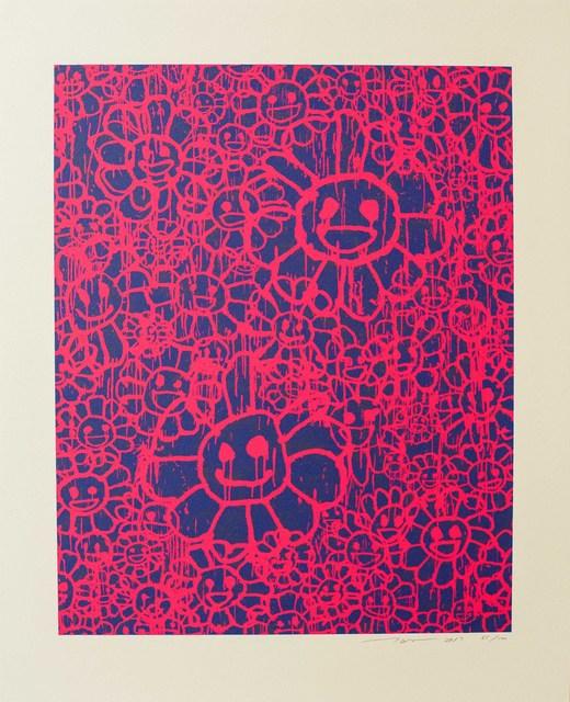 Takashi Murakami, 'Madsaki Flowers (A Pink)', 2017, Lougher Contemporary