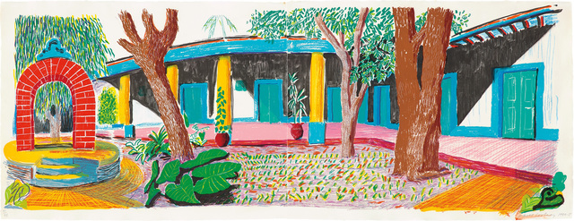 David Hockney, 'Hotel Acatlán: Second Day, from the 'Moving Focus' Series', 1984-85, Phillips