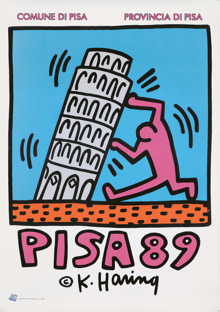 Keith Haring, 'Pisa 89.', 1989, Rennert's Gallery