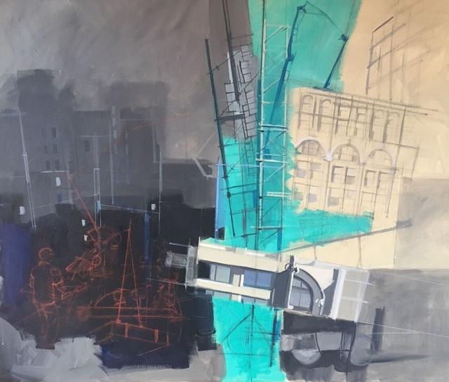 , 'Construction 1,' 2016, Ro2 Art