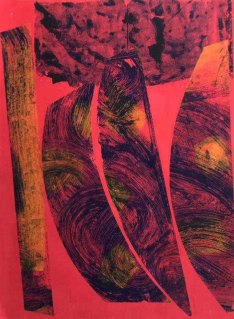 , 'Sharp Shapes Red,' 2018, Gagné Contemporary