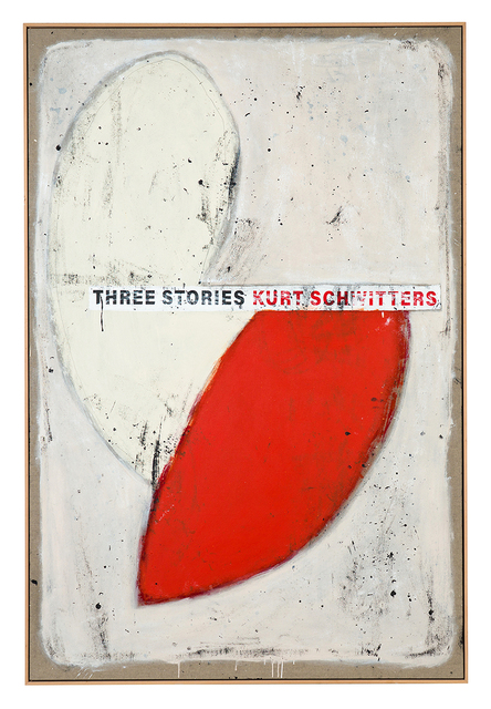 , 'Cover #33 (Three Stories, Kurt Schwitters),' 2018, Christopher Grimes Projects