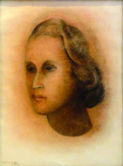 ", '""Retrato de mujer"",' 1957, GALERÍAS A. CRISTOBAL"