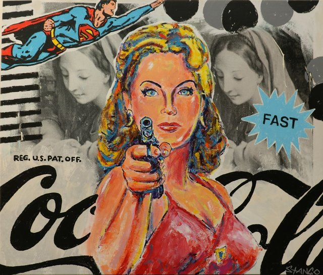 , 'She is Fast ,' , Bruce Lurie Gallery