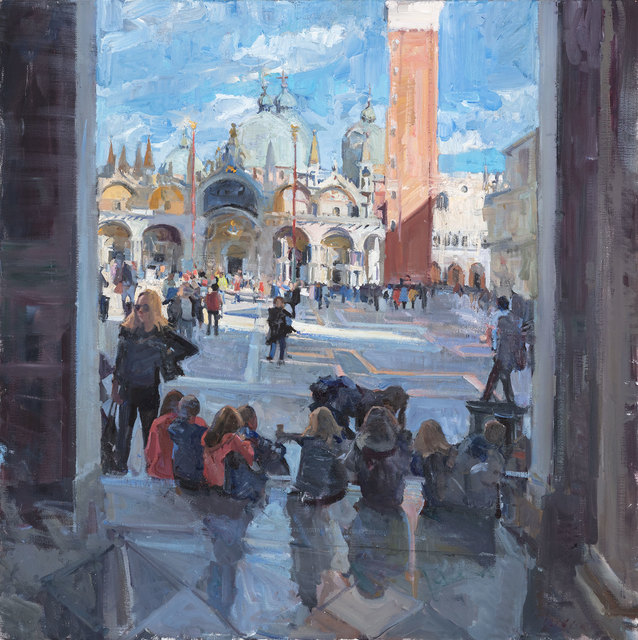 , 'Piazza San Marco,' 2018, Vail International Gallery