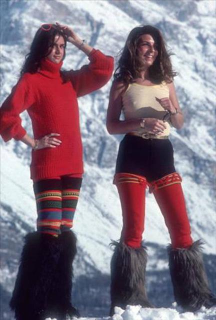 Slim Aarons, 'Winter Wear, Cortina d'Ampezzo', 1976, IFAC Arts