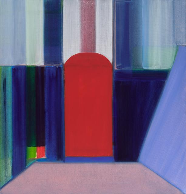 , 'Red Door,' 2017, Locks Gallery