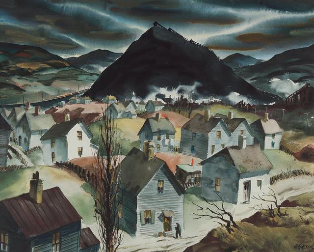 ", 'Study for ""Return to Slag Valley"",' , Questroyal Fine Art"
