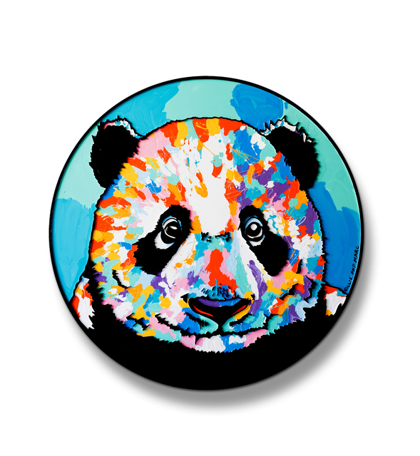 , 'The panda was now at the centre of everyone's attention ,' 2018, Gillie and Marc Art Gallery