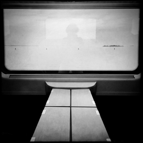 , 'Self on  a Train, Venice,' , ILEX Gallery