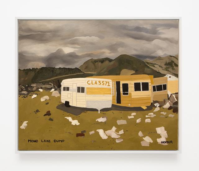 , 'Mono Lake Dump,' 1998, VARIOUS SMALL FIRES
