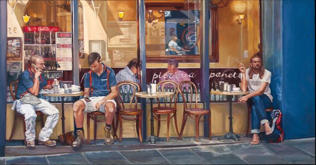 , 'Five O'Clock Café,' 2016, Charles Nodrum Gallery