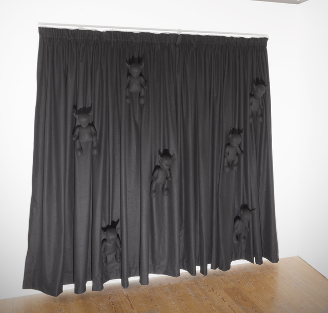 , 'Black Curtain,' 2015, New Art Projects