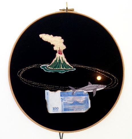 , 'Nage, je ne te hais point,' 2014, Galerie Les filles du calvaire