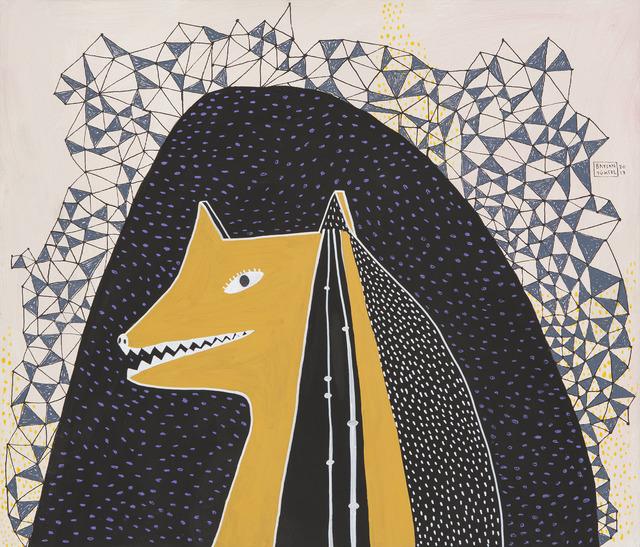 """, '""""KURDUN GELİŞİ"""" // """"ARRIVAL OF THE WOLF"""",' 2013, Art Next Istanbul"""