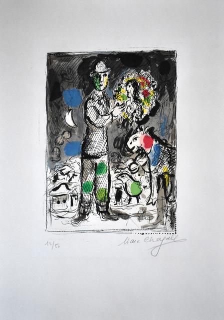 , 'Peasant with Bouquet | Paysan au Bouquet,' 1968, Gilden's Art Gallery