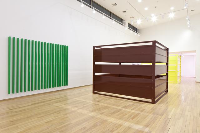 Liam Gillick, 'Shanty Stucture B', 2013, Powder-coated aluminium, Gallery Ihn