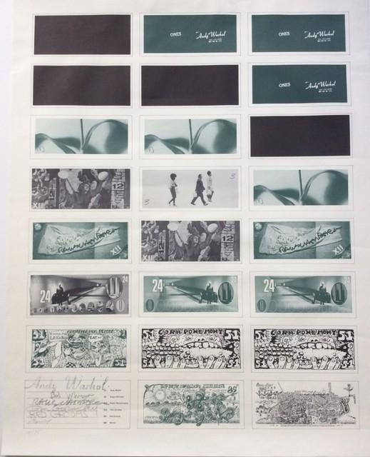 Andy Warhol, 'Art Cash', 1971, Print, Offset lithograph on paper, Joseph Fine Art LONDON