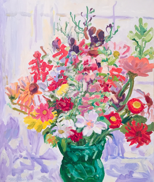 , 'Midsummer Flowers,' 1990, Reynolds Gallery