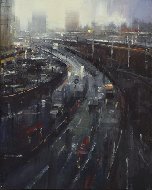 Steven Bewsher, 'Rush Hour in the City', Gateway Gallery