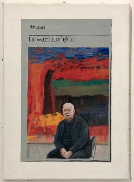Hugh Mendes, 'Obituary: Howard Hodgkin', 2017, Robert Fontaine Gallery