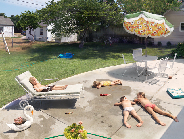 Julie Blackmon, 'Laying Out', Fahey/Klein Gallery
