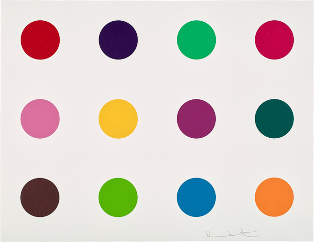 Damien Hirst, 'Methionine from 12 Woodcut Spots', 2010, Phillips