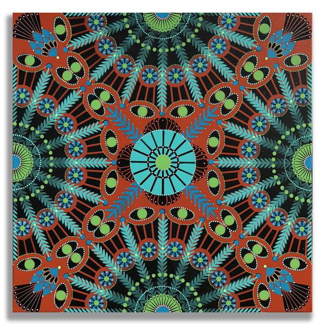 , 'Kaleidoscopic Nature 10,' 2018, Jonathan LeVine Projects